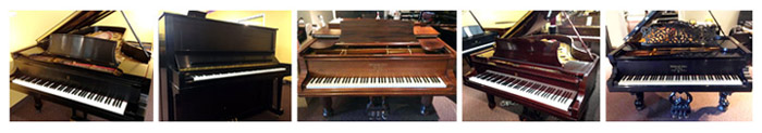 Pre-owned Steinway pianos at Schmitt Music